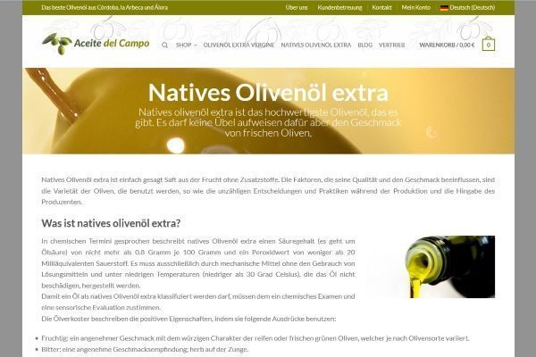 Natives Olivenoel Extra