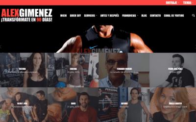 Álex Giménez – Entrenador personal Valencia